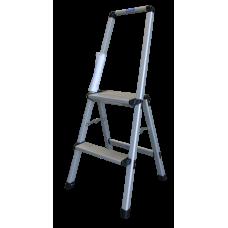 AL Step Ladder w/Handrail 2'